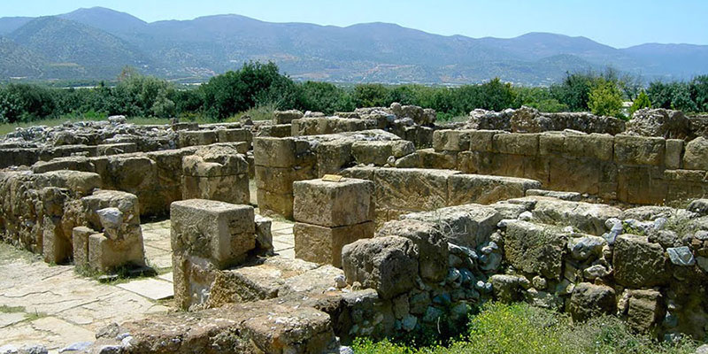 MINOAN PALACE OF MALIA