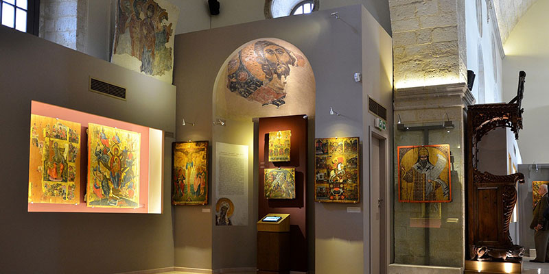 MUSEUM OF CHRISTIAN ART/ ST. CATHERINE OF SINAI